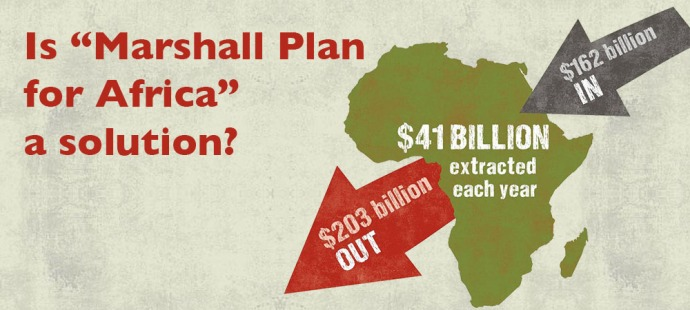 "Is ""Marshall Plan for Africa"" a solution?"