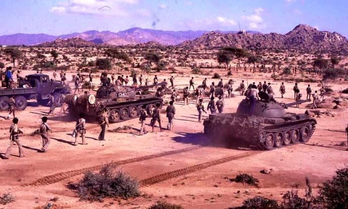 EPLF rebels Eritrea