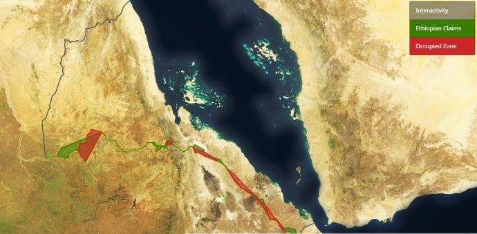 Eritrea Ethiopia Border